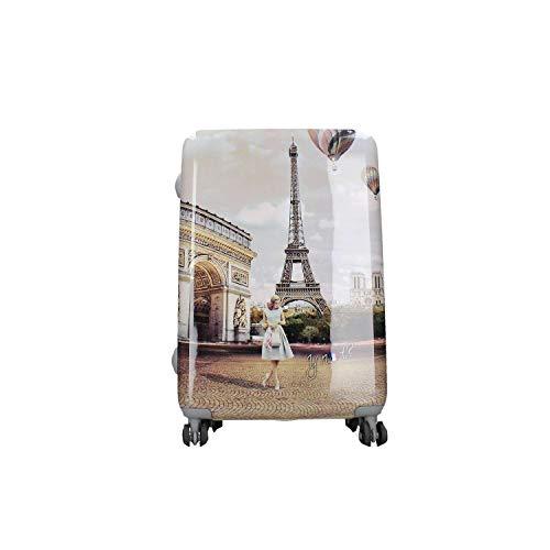 Y not? valigia trolley donna trolley medium 65 cm l-1002 unica parigi