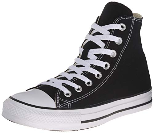 Converse Ctas, Unisex-Erwachsene Hohe Sneakers, Schwarz
