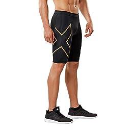 2XU, Pantaloncini da Corsa da Uomo, a Compressione MCS