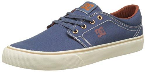 DC Shoes Trase TX, Basse Uomo Blu (Vintage Indigo)