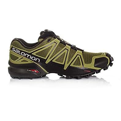 SALOMON Speedcross 4 Trail Running Shoe - 13.5 Green