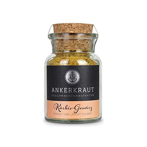 Ankerkraut Kürbis Gewürz, 95g im Korkenglas, Mischung würzender Zutaten für Kürbis