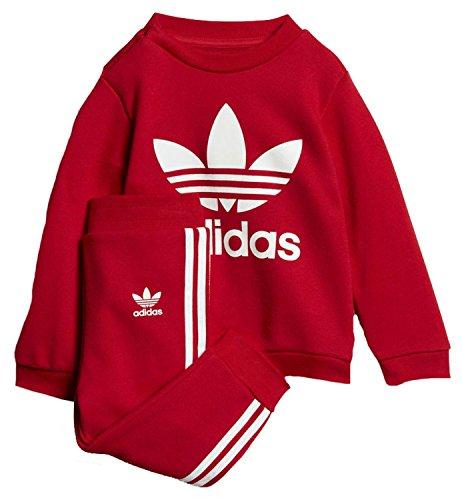 Adidas ce1158Set Sport Kinder XL Scarlet/Blanc