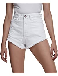 Damen Damen Shorts Ladies Denim Hotpants von URBAN CLASSICS # kurze hosen hose Shorts & Radlerhosen