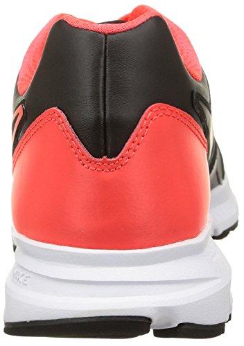 Nike Sneaker Downshifter 6 Lea mehrfarbig (Black/Black-Brght Crmsn-White)