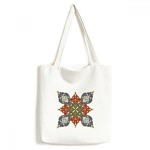 DIYthinker Waschbare Einkaufs-Tasche 33x40Cm Multicolor -
