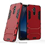 Cocomii Iron Man Armor Huawei Mate 20 lite Hülle [Strapazierfähig] Taktisch Griff Ständer Stoßfest Gehäuse [Militärisch Verteidiger] Ganzkörper Case Schutzhülle for Huawei Mate 20 lite (I.Red)