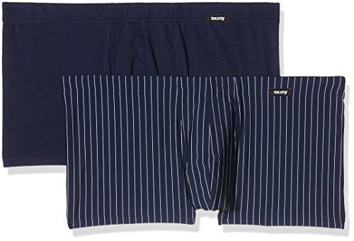 Skiny Herren Retroshorts Power Line/Hr. Pant DP, 2er Pack, Night Selection, L (Power-mikrofaser-shorts)