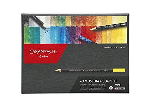 Caran d 'Ache–40Museum Aquarelle–Lápices de colores para artistas 3510.340