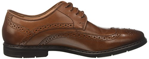 Clarks Banbury Limit, Brogues Homme Marron (British Tan Lea)