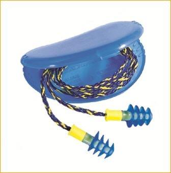 10paires lamelles Bouchons anti-bruit Fusion Hear Pack–Taille M/L
