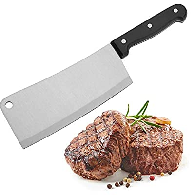 Westmark Kitchen Cleaver, Steel Black/Silver, 30 x 7.7 x 1.8 cm