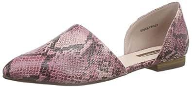 ESPRIT Women's Veruska Sandal Ballet Flats Red Size: 3.5