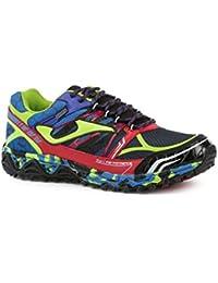 Joma Tk.sierra 616 Negro-royal-rojo - Zapatillas de correr en montaña Hombre