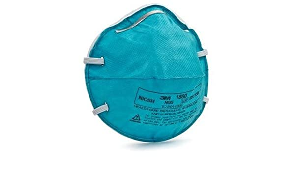 3m 1860s Masks in Respirators N95 Of 10 Care Health Amazon Pack