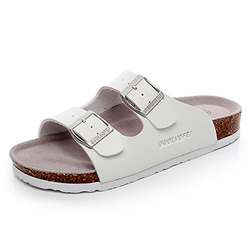 ZHANGRONG- Chaussons Lovers Sandales Cork pantoufles hommes et femmes anti-dérapant chaussures de plage respirant