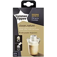 Tommee Tippee Milk Powder Dispensers x 6