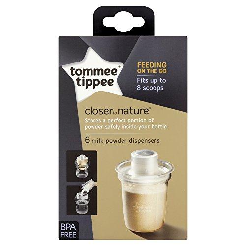 Tommee Tippee Closer to Nature Spender für Milchpulver 6 Stück