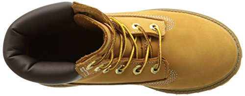 Timberland 6 in Classic Boot FTC_6 in Premium WP Boot 14749, Unisex-Kinder Stiefel Wheat