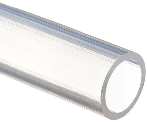 SMC TU0805C-20 Pneumatic Tubing, General Air Pressure, PUR (Polyurethane), Clear,