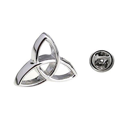 Triquetra Symbolik Triangle Holy Trinity keltisches Anstecknadel Tack Krawatte