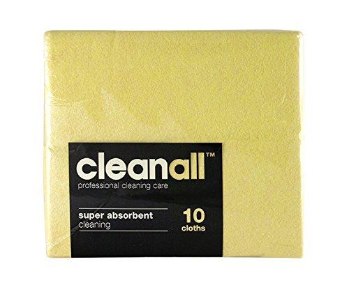 cleanall jcc10y janitors panno, Super assorbente, Giallo (Confezione da 24)