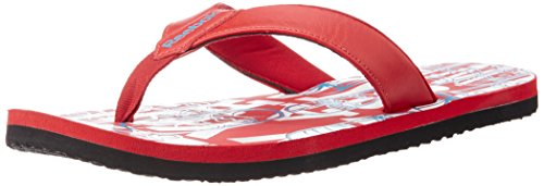 Reebok Men's Solar Flip II Red Flip-Flops and House Slippers  - 6 UK/India (39 EU) (7 US)  available at amazon for Rs.359