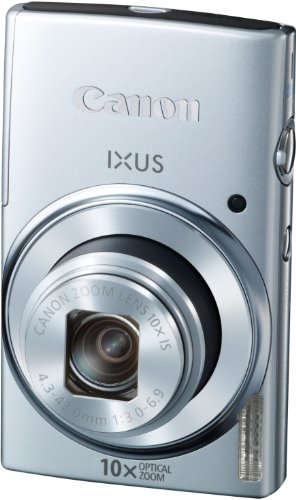Canon IXUS 155 Digitalkamera (20 Megapixel, 10-fach opt. Zoom, 6,8 cm (2,6 Zoll) LCD-Display, HD-Ready) silber - 6