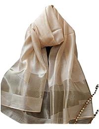 Leisial Mujeres Bufanda de Seda Chal de Abrigo Bufanda Mujeres