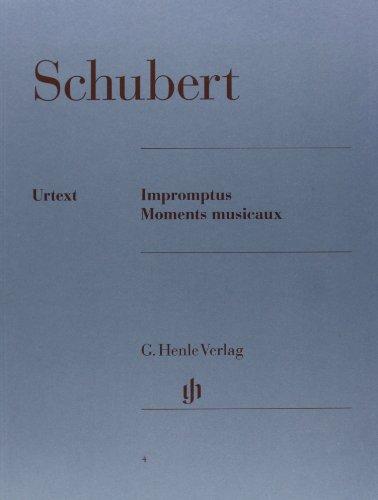 Impromptus + Moments Musicaux. Klavier