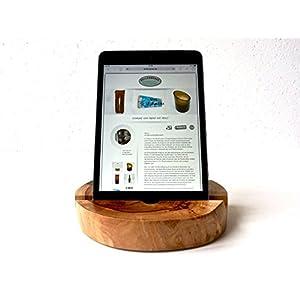 Tablet – Halter aus Apfelholz