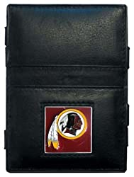 NFL Washington Redskins Leather Jacob's Ladder Wallet