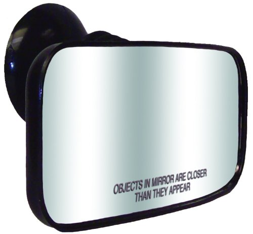 Jobe Boot Zubehör Suction Cup Mirror, Black, One Size, 420709001PCS