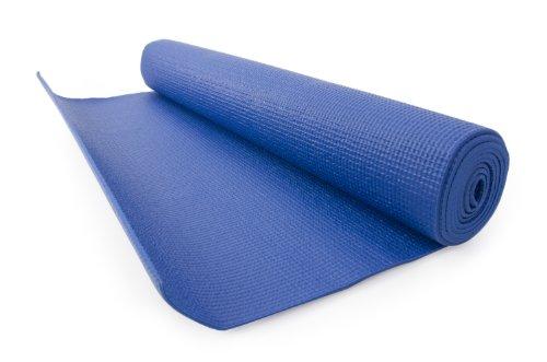 FA Sports Yogiplus, Stuoia di Yoga Unisex Adult, Blu, 61 x 173 x 0,3 cm