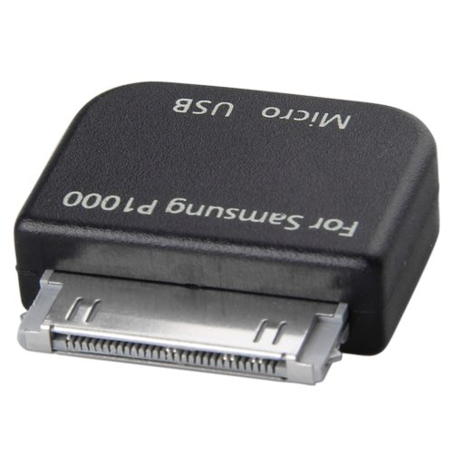 Micro USB 30 pin Hembra Adaptador para samsung galaxy tab P1000 7500 7510