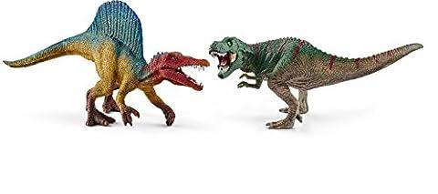 Schleich 41455 - Spinosaurus und T-Rex, klein Figur