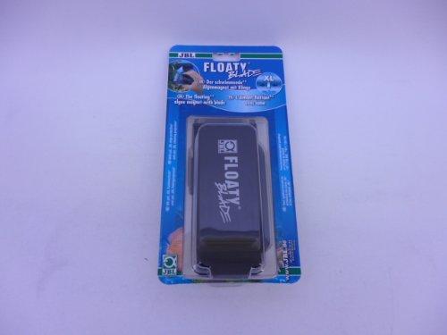 JBL Floaty Blade 6135000 Schwimmender Scheiben-Reinigungsmagnet mit Klinge für dicke Aquarienscheiben, XL