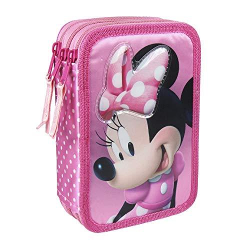 Cerdá Premium Minnie Trousses, 19 cm, Rose (Rosa)