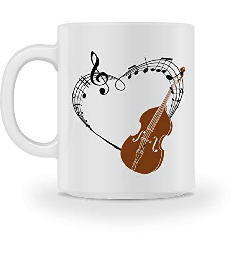 Für Kontrabass Musiker im Orchester - Tasse