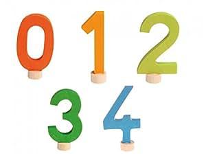 Numeri Decoratives set 0-4, Grimm
