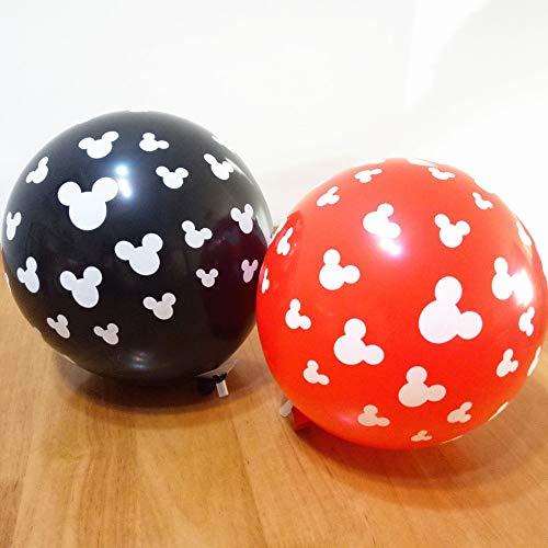 100 stücke Candy bunte Gedruckt cartoon Mickey Maus kopf ballon 12 inch helium ballons für geburtstag party mickey art der spielzeug
