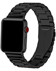 Fullmosa Compatible Apple Watch Band 38mm 40mm 42mm 44mm, Stainless Steel Metal for iWatch Bands