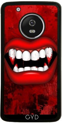 tArtists SilikonHülle für Moto G5 Plus - Vampir by BluedarkArt ()