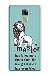 Huawei Honor 7 Back Cover, Premium Quality Designer Printed 3D Lightweight Slim Matte Finish Hard Case Back Cover for Huawei Honor 7 by Tamah