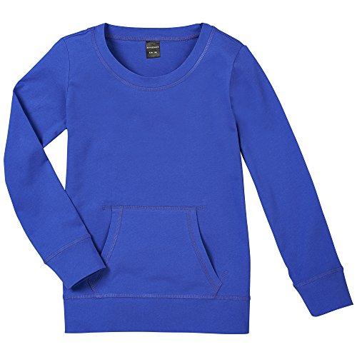 Schiesser Mädchen Schlafanzugoberteil Shirt 1/1, Gr. 152, Blau (royal 819)