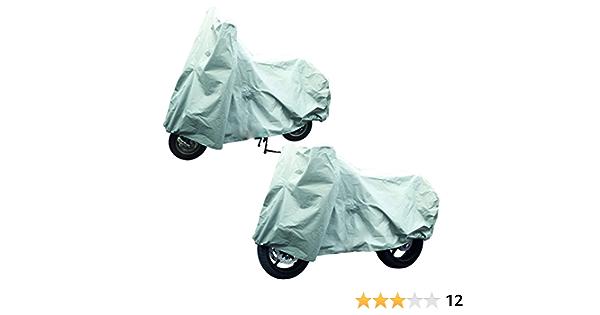 Smartweb Xxl Motorradabdeckung Rollerabdeckung 246x104x127cm Wasserdicht Uv Abweisend Motorradgarage Sport Freizeit