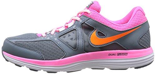 Nike Dual Fusio Lite 2 MSL femmes multicolore (BL GRPHT/TTL ORNG-PNK PW-WHITE)