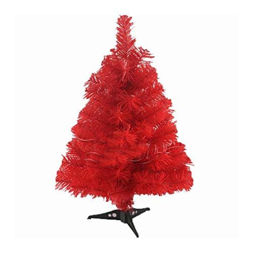 WUFANGFF 60 cm Künstlicher Weihnachtsbaum Snowflake Xmas Kunststoff Baum Jahr Home Schmuck Desktop Dekorationen Weihnachtsbaum, ()