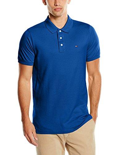 Hilfiger Denim Herren Poloshirt Tjm Basic Polo S/S 1 Grau (True Blue)