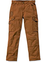 Carhartt Hose Cotton Ripstop, Color:carhartt brown;Größe:w 33 / l 30
